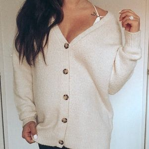 Urban Outfitters Oversized Button down Cardigan